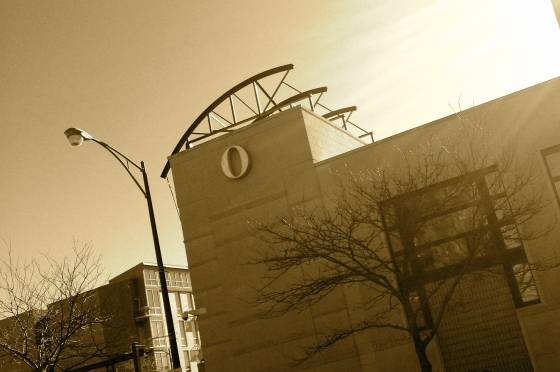 Another Oprah building…I love the simplicity of the O