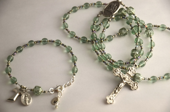 Single Decade Bracelet & Rosary